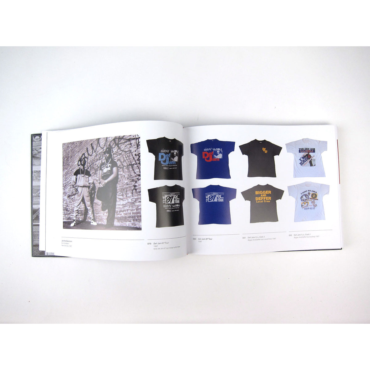 DJ Ross One: Rap Tees - A Collection of Hip-Hop T-Shirts 1980-1999 Book - Signed