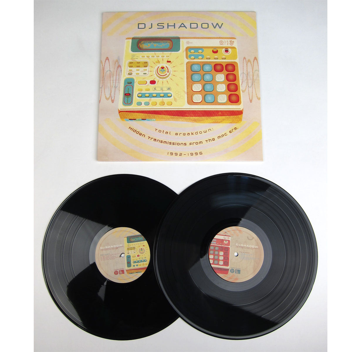 DJ Shadow: Hidden Transmissions From The MPC Era 1992-1996 Vinyl 2LP detail