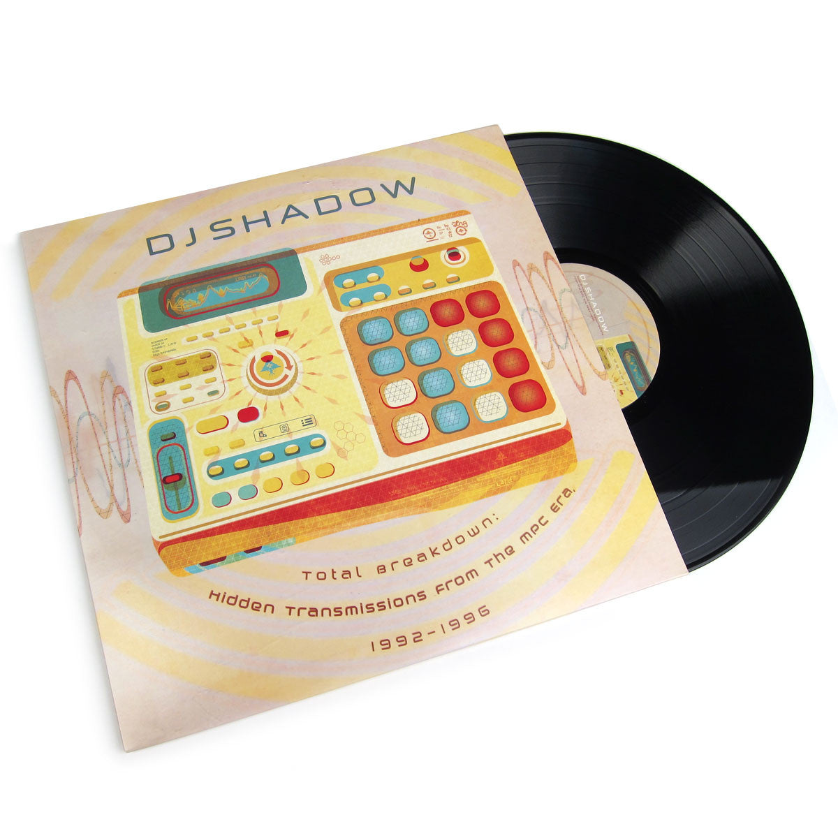 DJ Shadow: Hidden Transmissions From The MPC Era 1992-1996 Vinyl 2LP