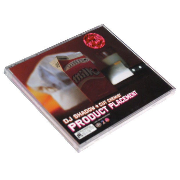 Cut Chemist & DJ Shadow: Product Placement (Deadstock) CD back