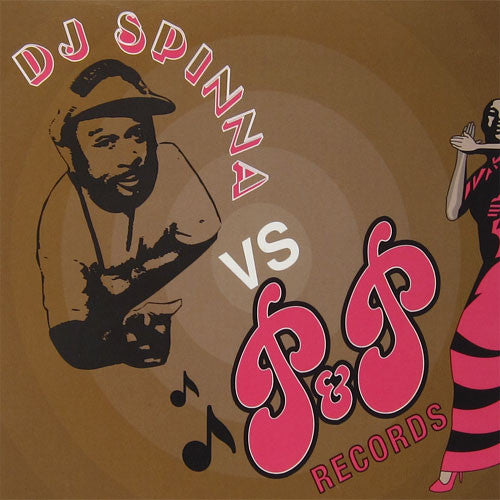 DJ Spinna: DJ Spinna Vs. P&P Records Vinyl 2LP