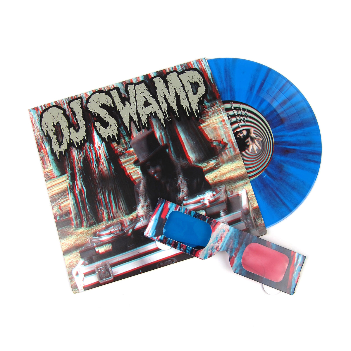 "DJ Swamp: For Medicinal Use Only 3D Vinyl 7""+Comic Book"