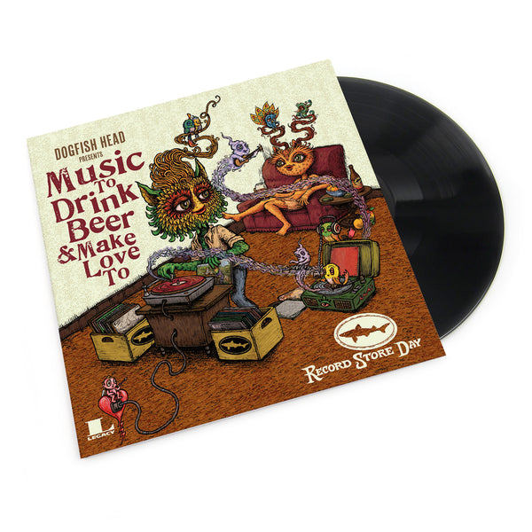 Dogfish Head: Music To Drink Beer To Vol.4 Vinyl LP (Record Store Day)