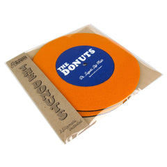 "Stokyo: Dr. Suzuki The Donuts 7"" Slipmats - Orange / Blue"