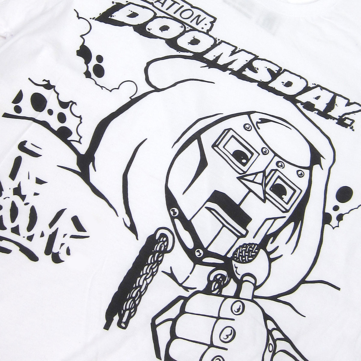 MF Doom: Doomsday Shirt - White