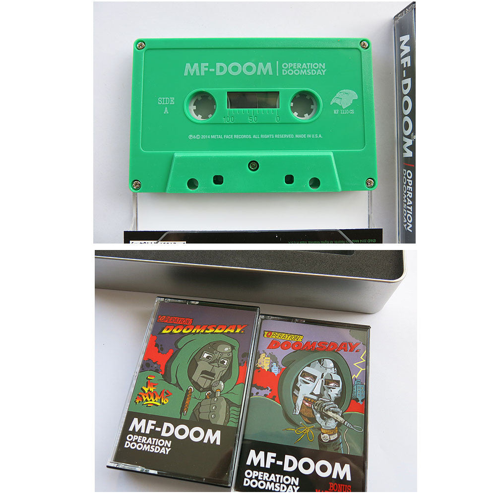 MF Doom: Operation Doomsday 2xCassette Boxset tapes