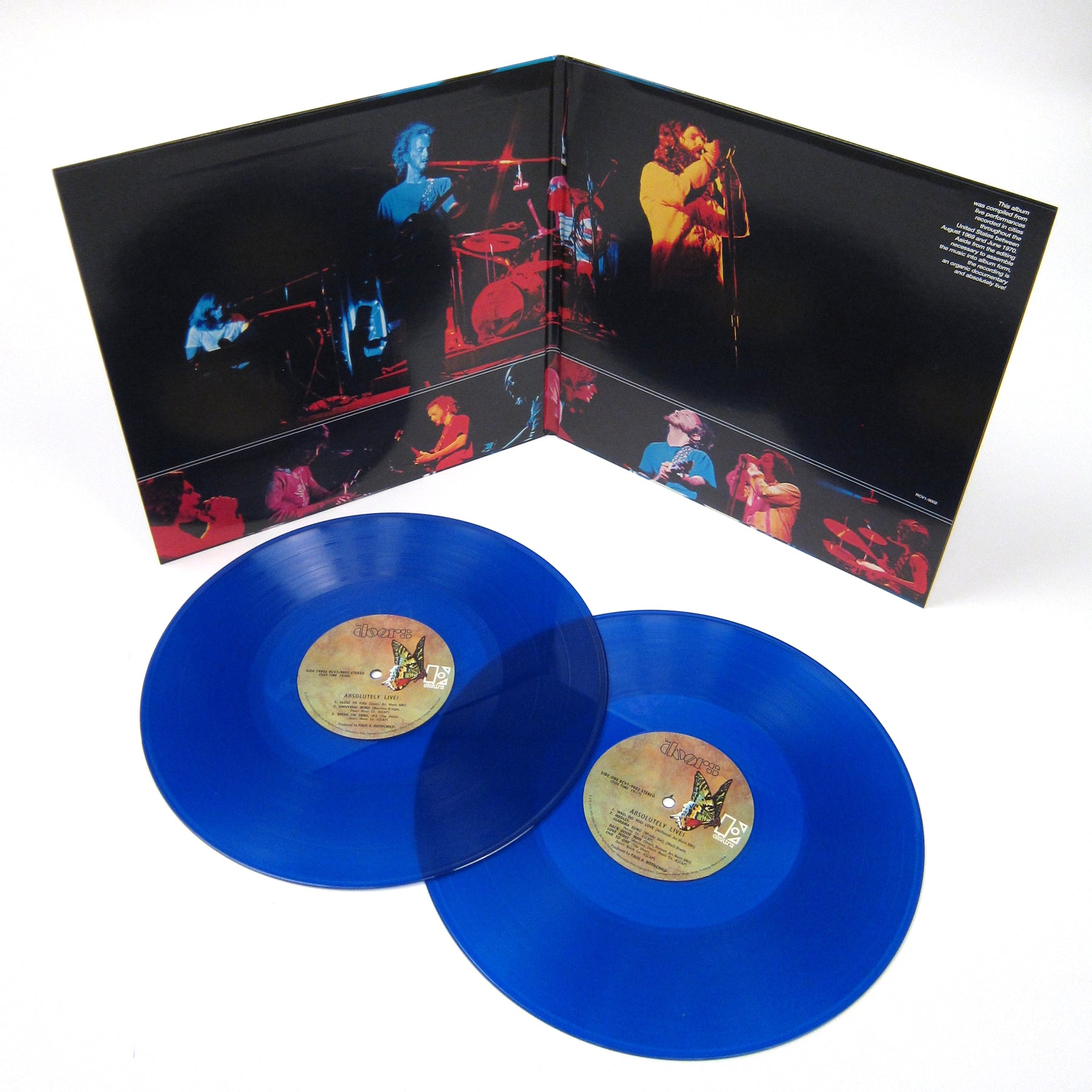 ... The Doors Absolutely Live (Colored Vinyl) Vinyl LP (Record Store Day) ...  sc 1 st  Turntable Lab & The Doors: Absolutely Live (Blue Vinyl) Vinyl LP (Record Store Day ...