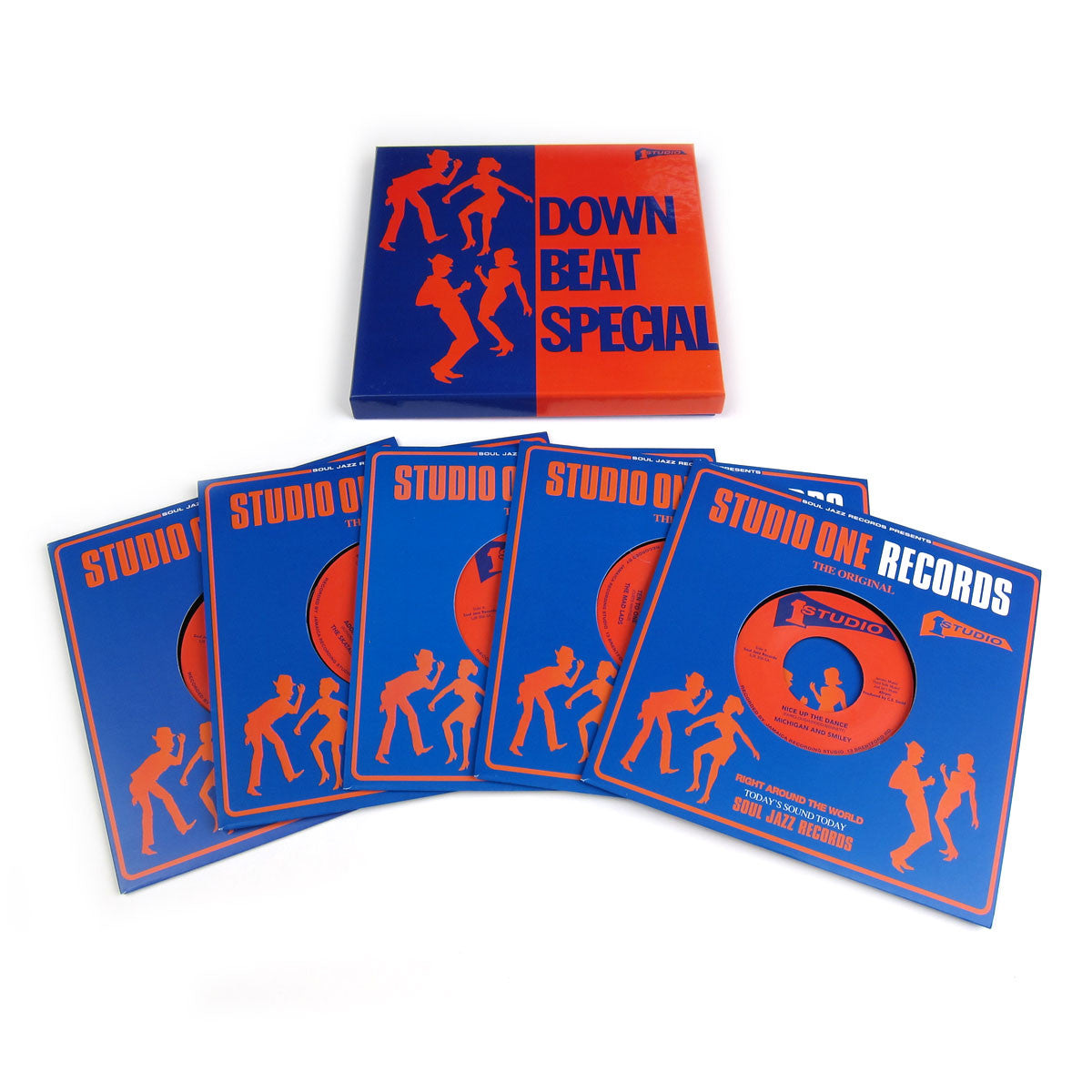 "Soul Jazz Records: Down Beat Special Vinyl 7"" Boxset (Record Store Day)"