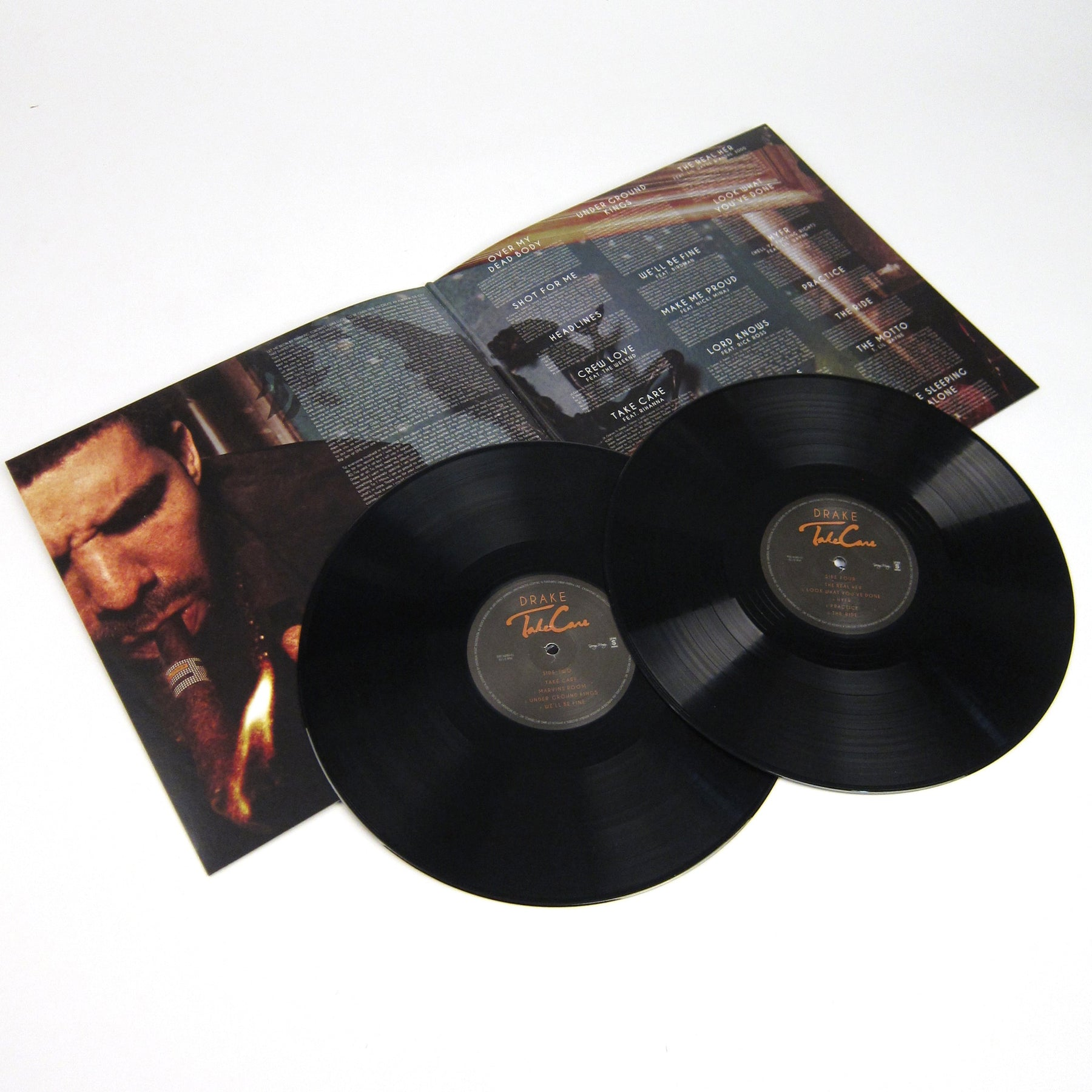 Drake Take Care Vinyl 2lp Turntablelab Com