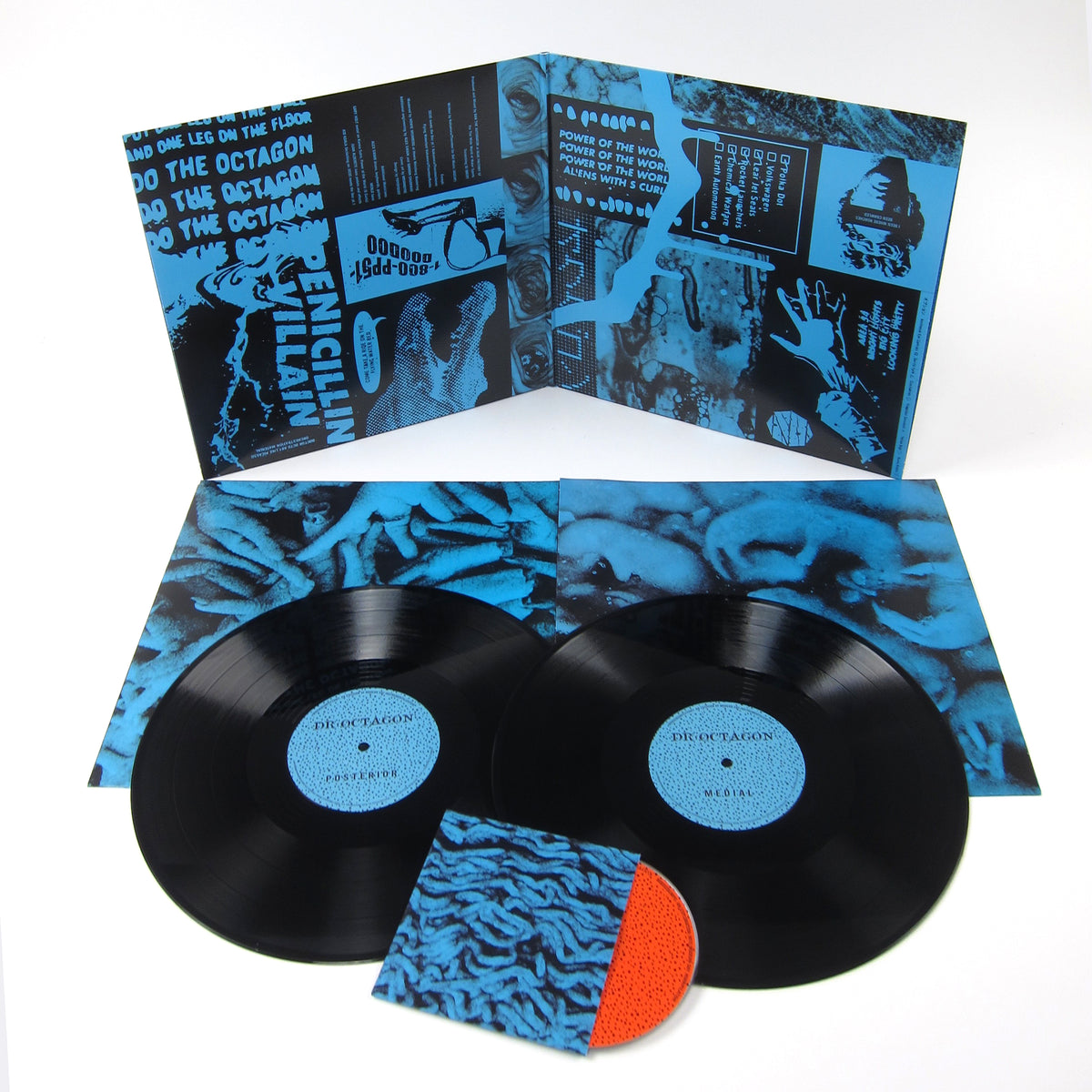 Dr. Octagon: Moosebumps - An Exploration Into Modern Day Horripilation Instrumentals Vinyl 2LP+CD (Record Store Day)