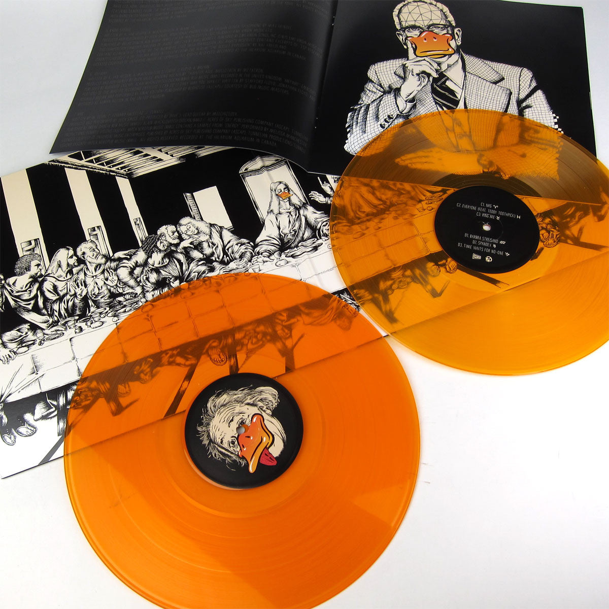 Duck Sauce: Quack (A-Trak, 180g, Free MP3, Colored Vinyl) Vinyl 2LP detail