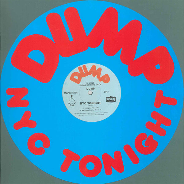 Dump: NYC Tonight (Yo La Tengo, Free MP3) 12""