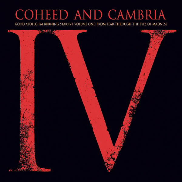 Coheed And Cambria: Good Apollo, I'm Burning Star IV Vol.1 (Splatter Colored Vinyl) Vinyl 2LP (Record Store Day)