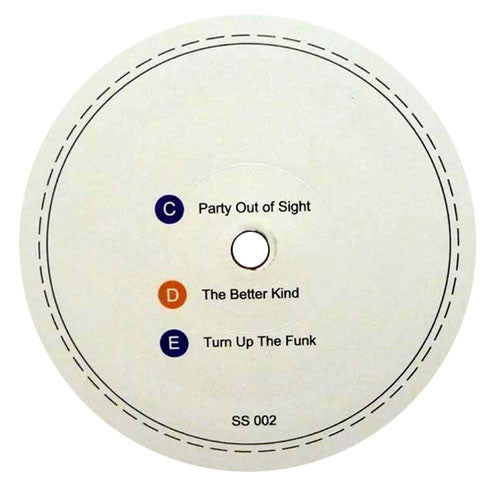Eamon Harkin: Party Out Of Sight (Bill Withers) 12""