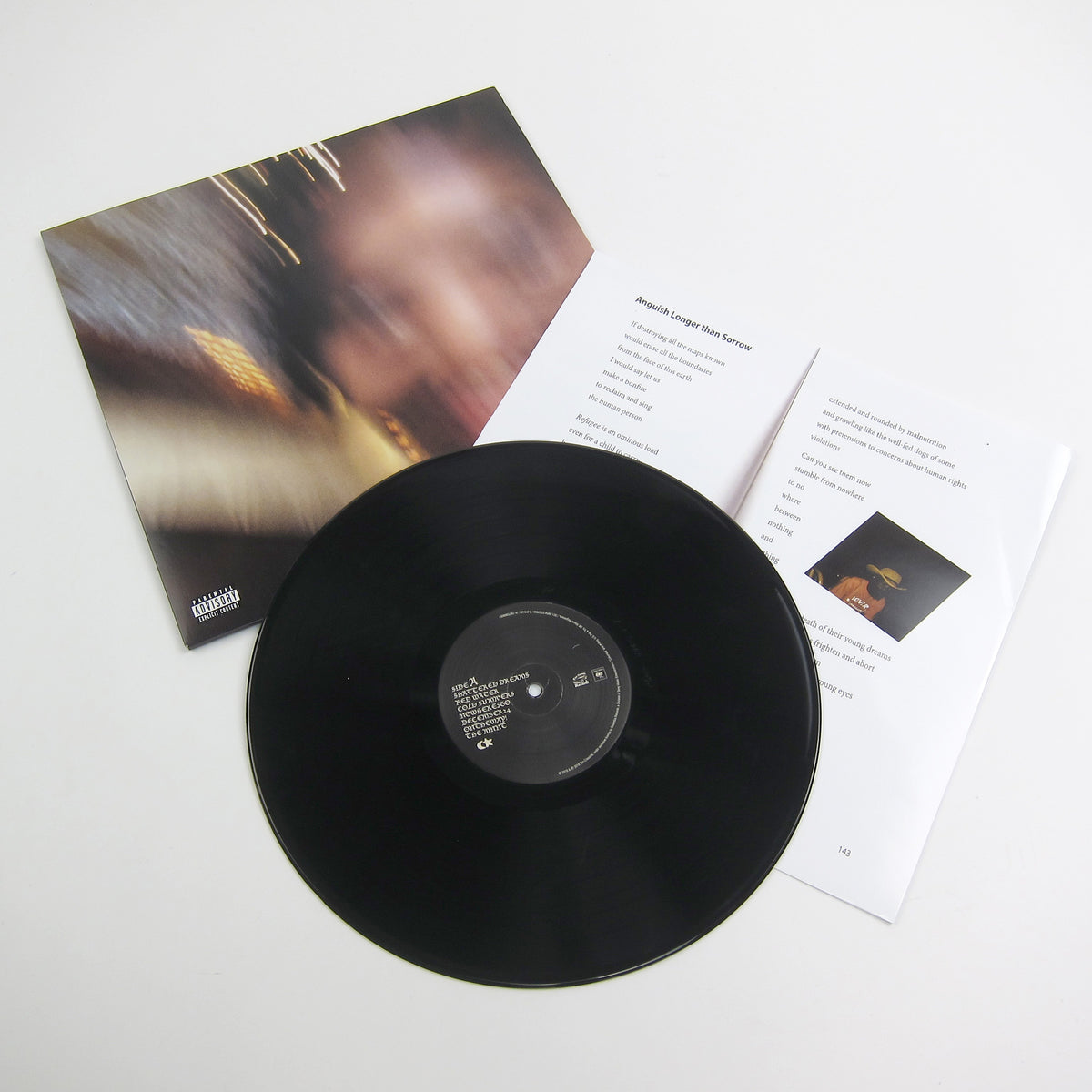 Earl Sweatshirt: Some Rap Songs Vinyl Insert