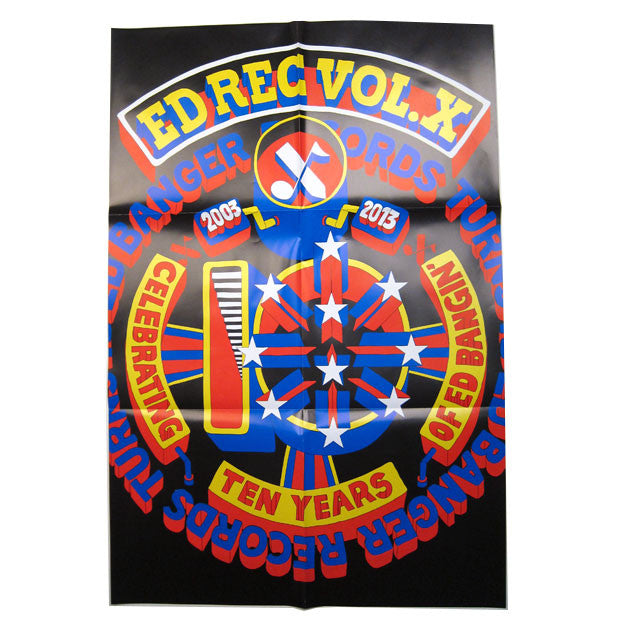 Ed Banger: Ed Rec Vol. X Deluxe 2LP + CD 3
