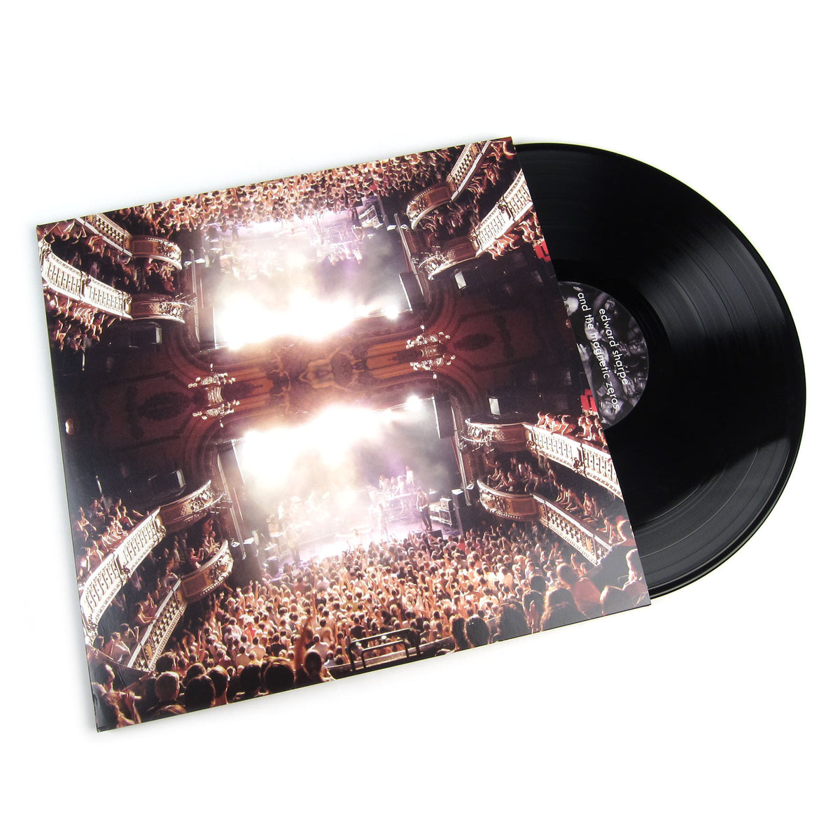 Edward Sharpe And The Magnetic Zeros: Live In No Particular Order Vinyl 3LP