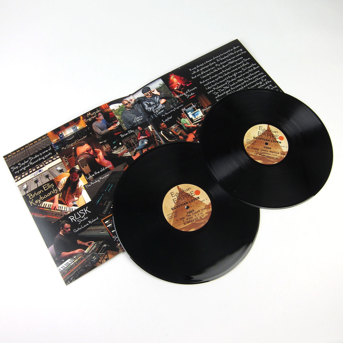Egyptian Lover: 1984 Vinyl 2LP