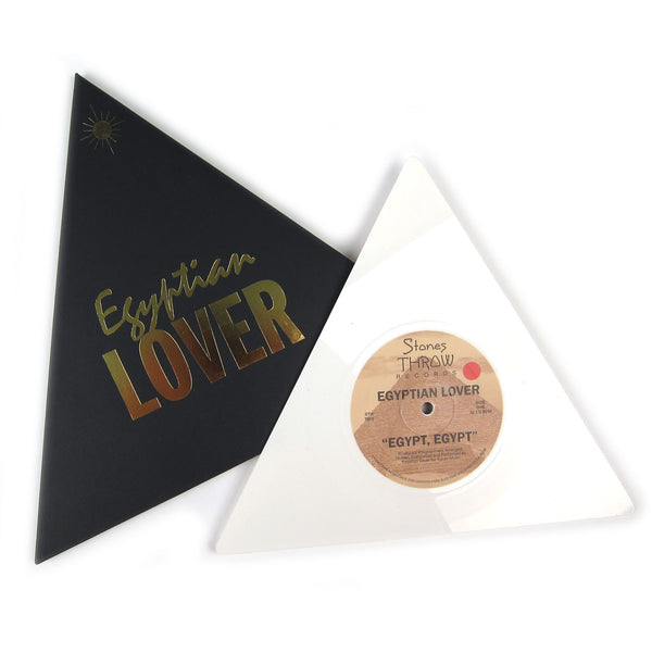 "Egyptian Lover: Egypt, Egypt / Girls (Pyramid Shaped) Vinyl 7"" (Record Store Day)"