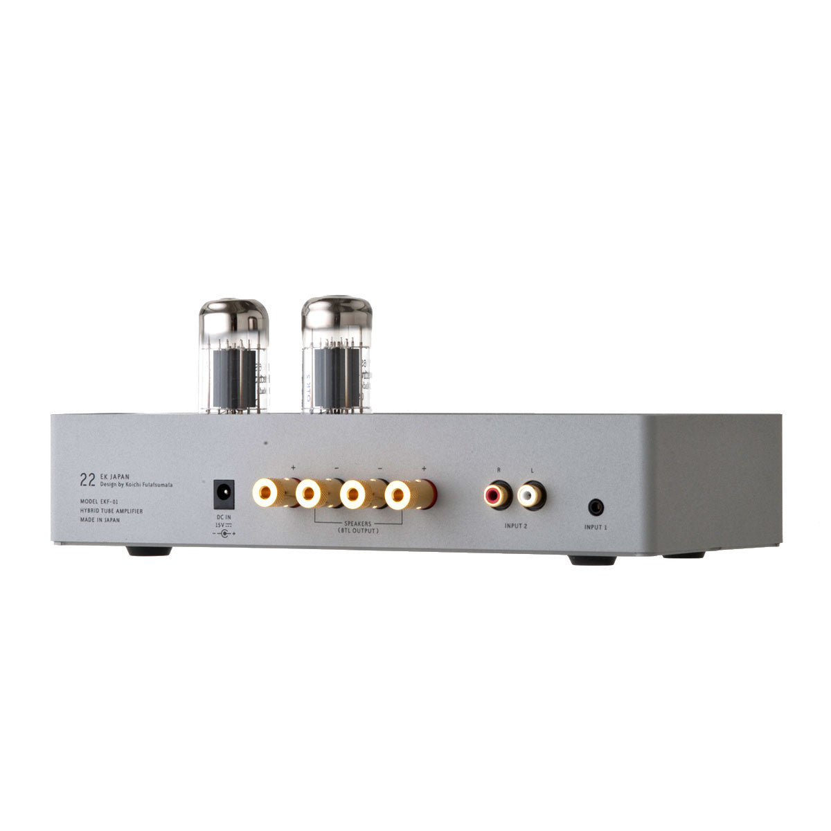 EK Japan: 22 Hybrid Tube Amplifier back
