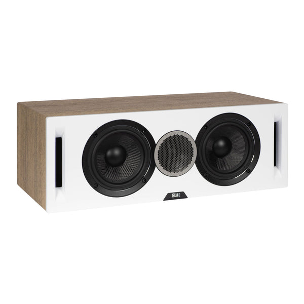 Elac: Debut Reference Center Channel Speaker (DCR52) - White / Oak