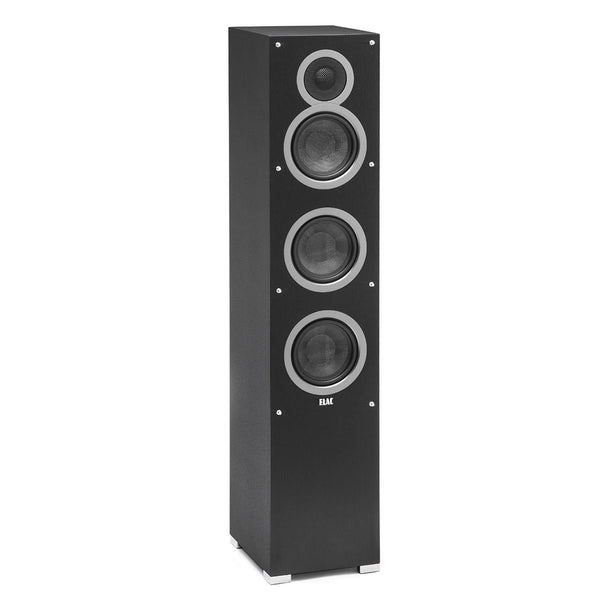 "Elac: F5 Debut Series 5 1/4"" Floorstanding Speaker (DF51-BK)"