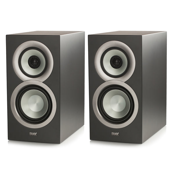 "Elac: Uni-Fi BS U5 Slim 5 1/4"" Bookshelf Speakers - Black (BSU5-SB)"