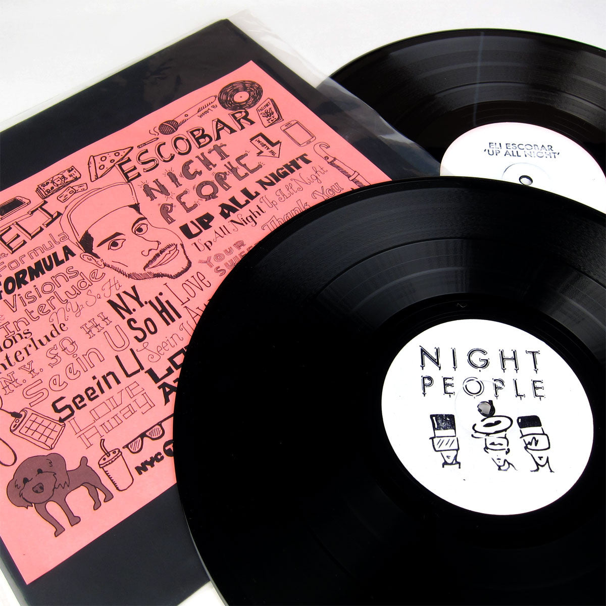 Eli Escobar: Up All Night Vinyl 2LP detail