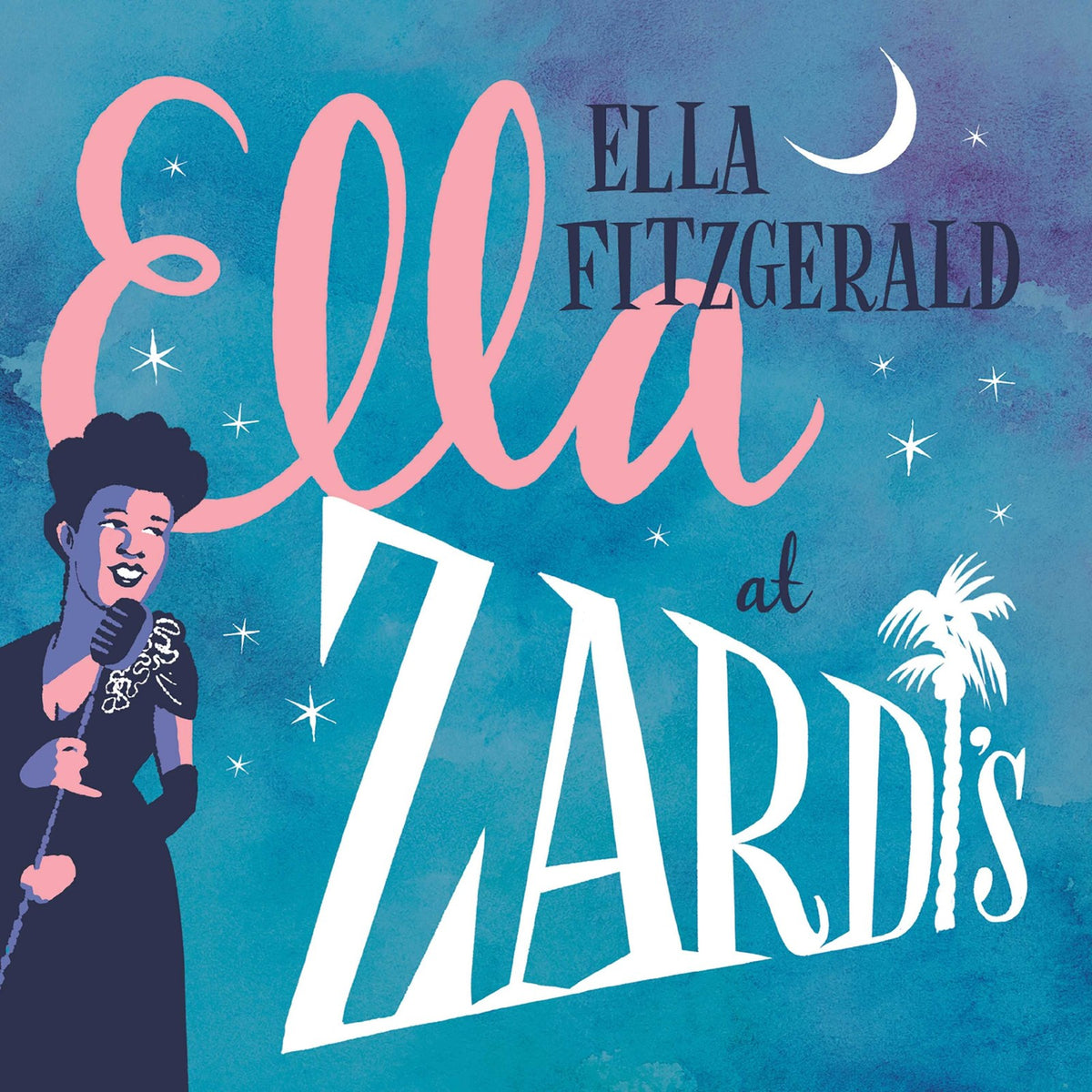 Ella Fitzgerald: Ella At Zardi's (180g, Colored Vinyl) Vinyl 2LP (Record Store Day)