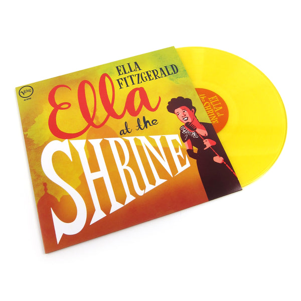 Ella Fitzgerald: Ella At The Shrine (Colored Vinyl) Vinyl LP (Record Store Day)