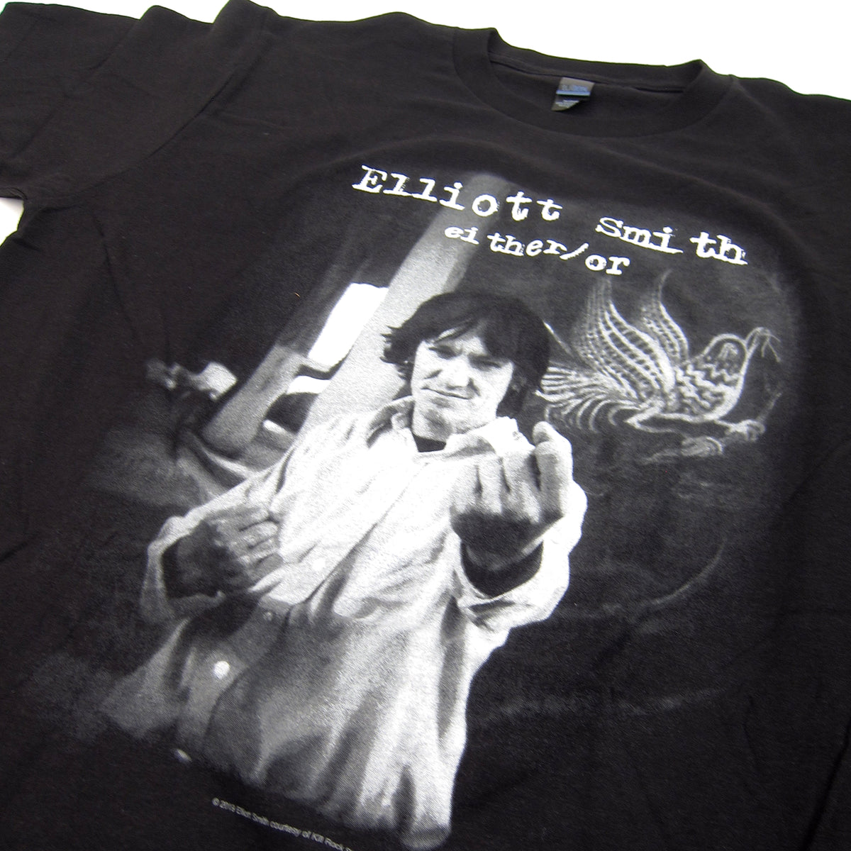 best sneakers 2a142 1bc98 Elliott Smith Either / Or Shirt - Black