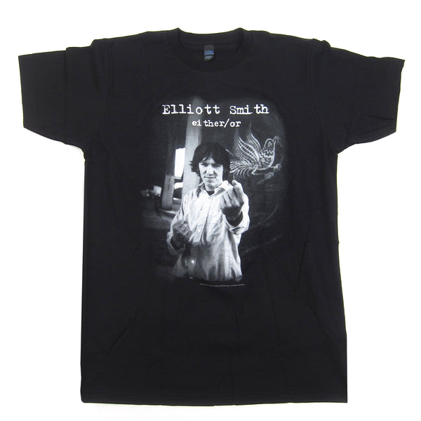 Elliott Smith: Either / Or Shirt - Black