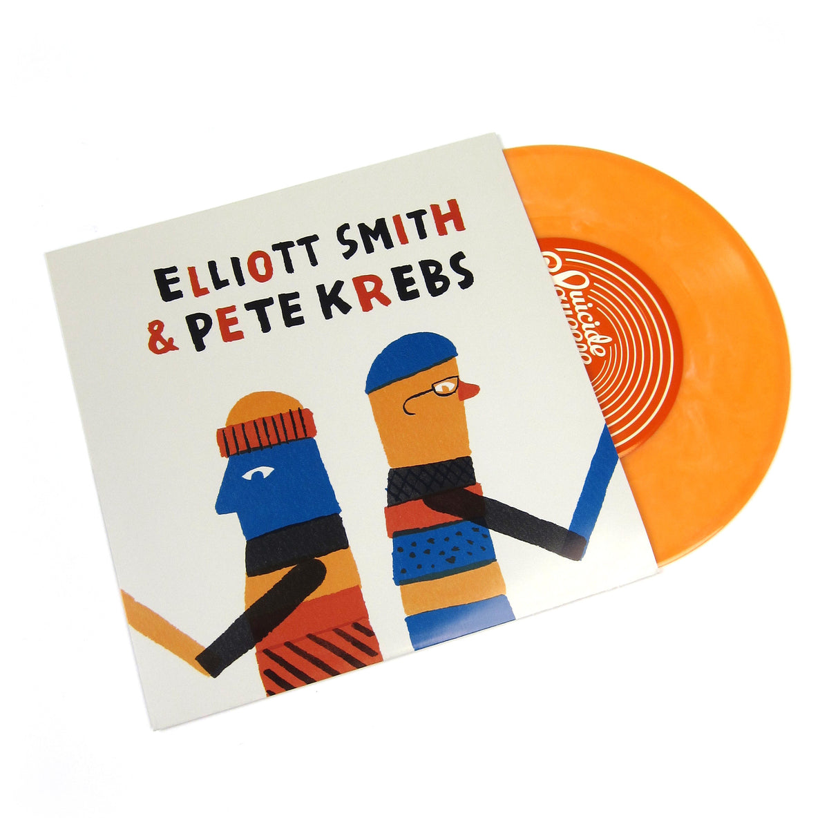 Elliott Smith & Pete Krebs: Shytown / No Confidence Man (Colored Vinyl) Vinyl 7""