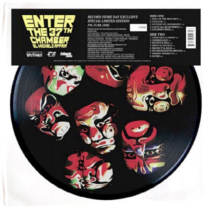 El Michels Affair: Enter The 37th Chamber (Wu-Tang Clan Covers) Pic Disc LP