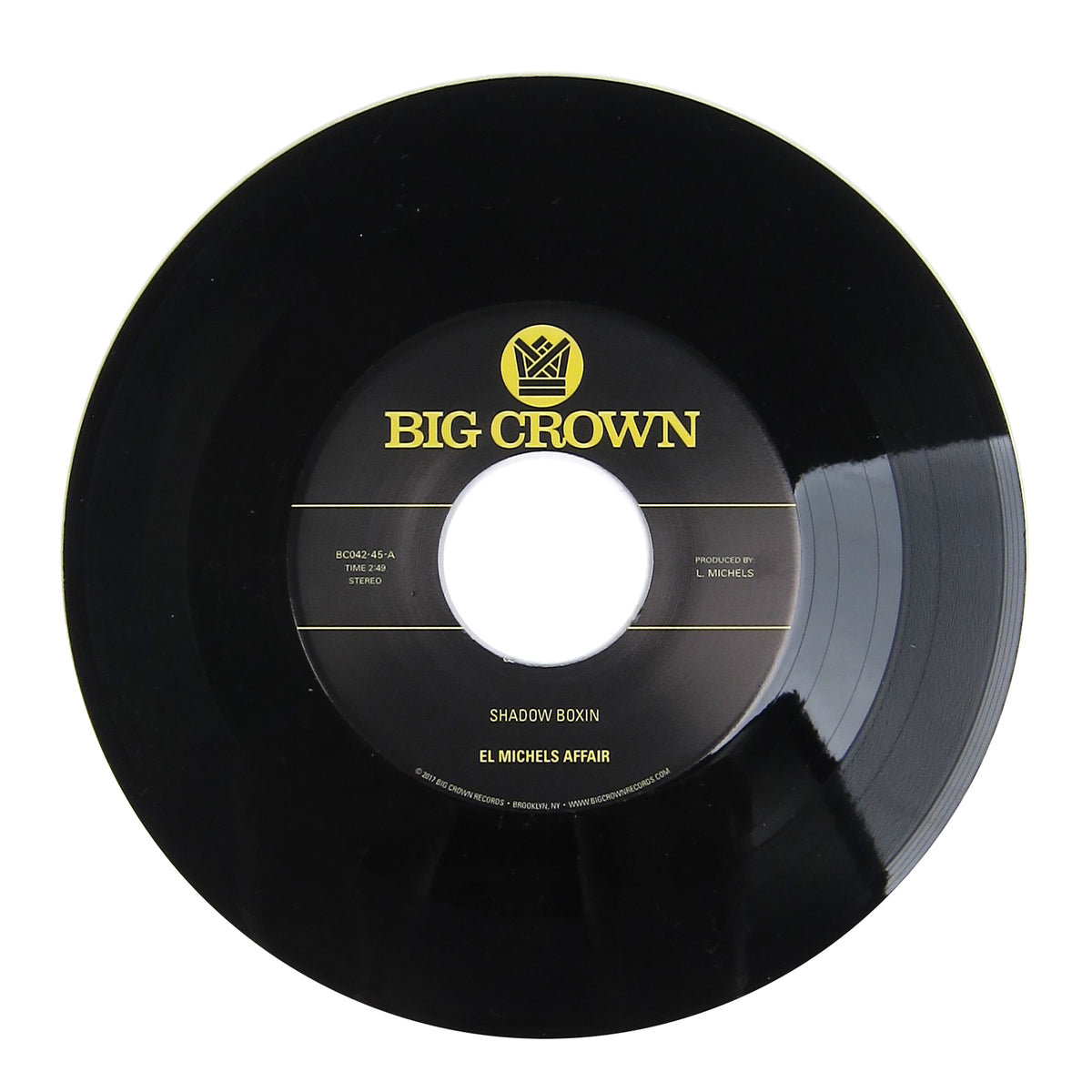 El Michels Affair: Shadow Boxin' / Iron Maiden (Wu-Tang Clan Covers) Vinyl 7""