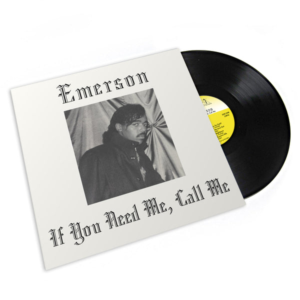 Emerson: If You Need Me, Call Me Vinyl LP (Record Store Day)