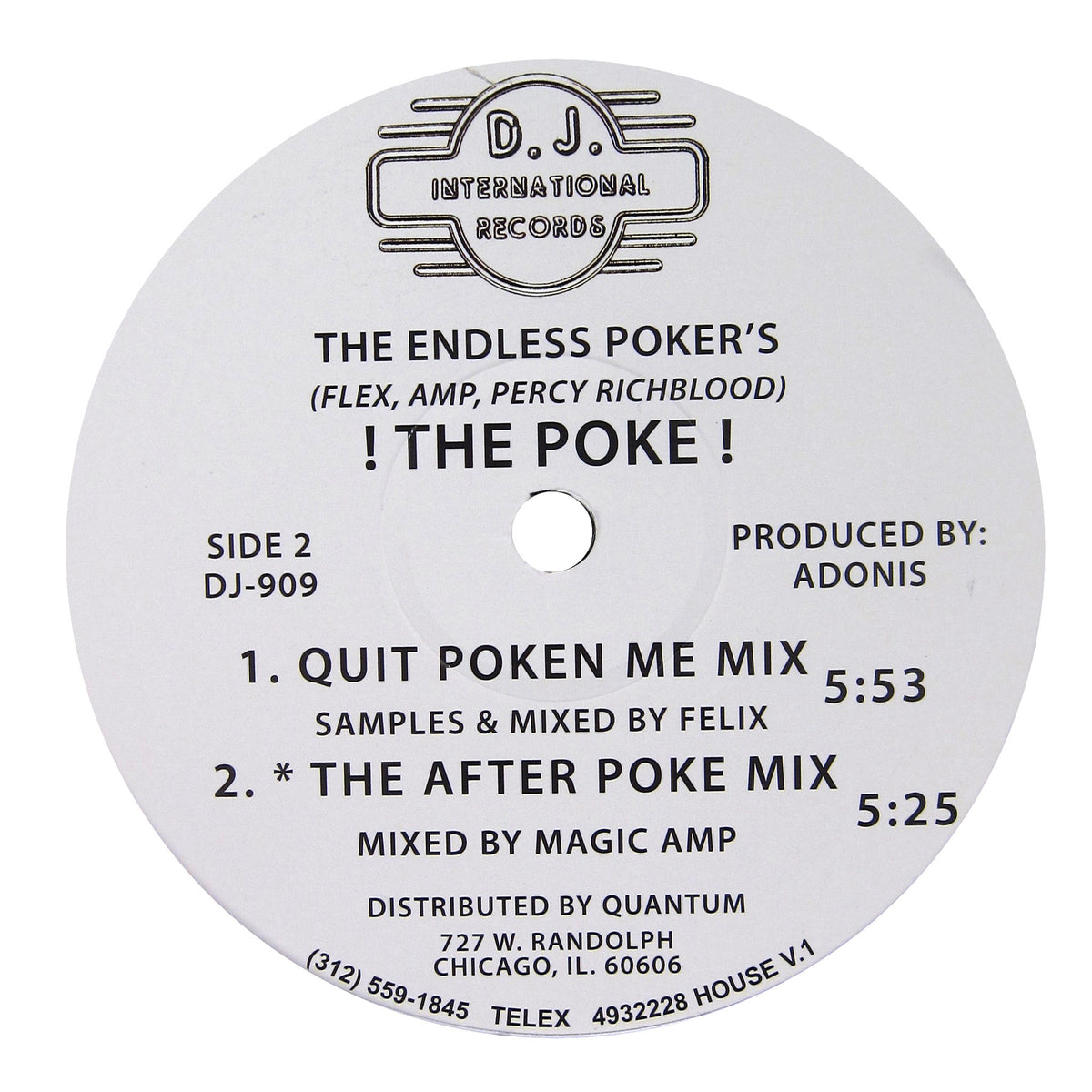 The Endless Poker's: ! The Poke ! Vinyl 12""