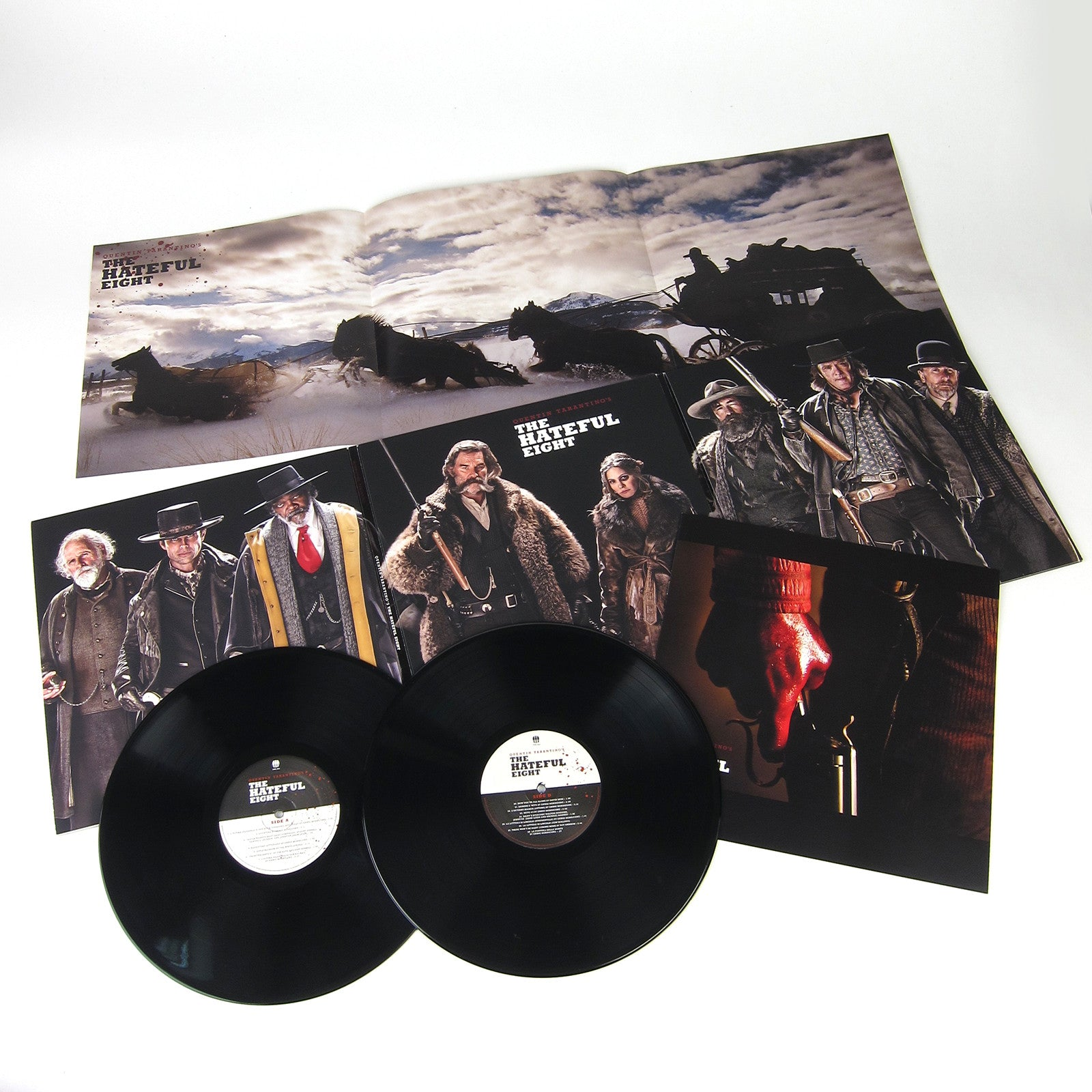 ennio morricone quentin tarantino s the hateful eight vinyl 2lp