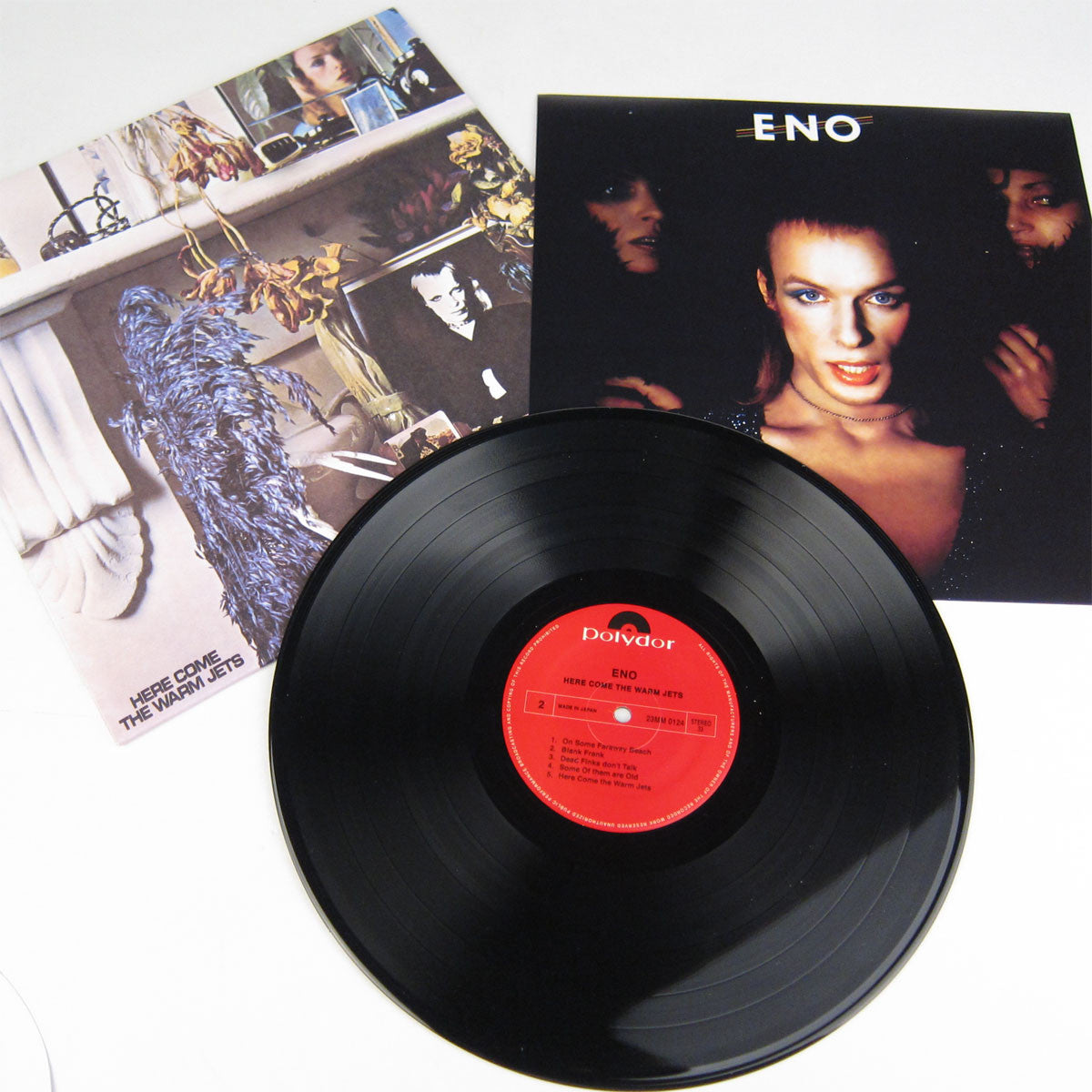 Brian Eno: Here Come The Warm Jets Vinyl LP detail