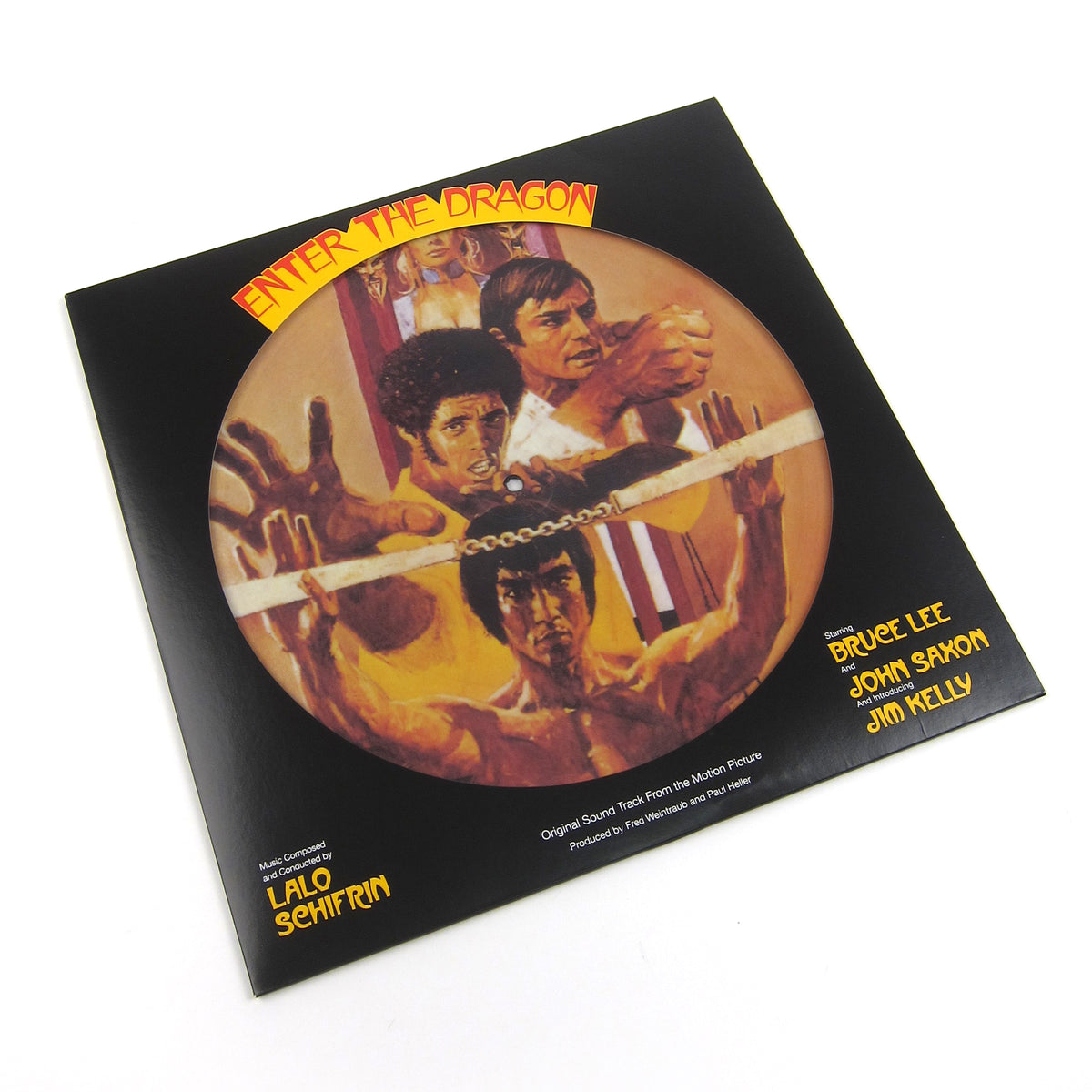 Lalo Schifrin: Enter The Dragon Soundtrack (Pic Disc) Vinyl LP (Record Store Day)
