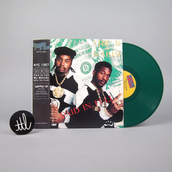 Eric B. & Rakim: Paid In Full (Colored Vinyl) Vinyl LP - Turntable Lab Exclusive