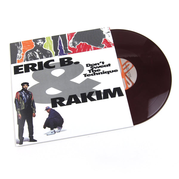 Eric B. & Rakim: Don't Sweat The Technique (Colored Vinyl) Vinyl 2LP