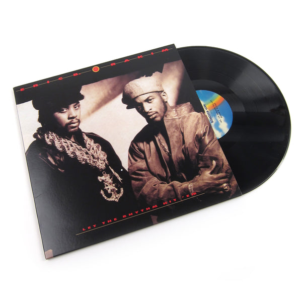 Eric B. & Rakim: Let The Rhythm Hit 'Em Vinyl 2LP