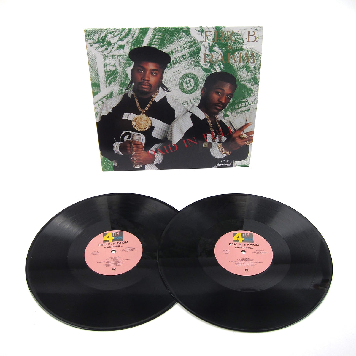 Eric B. & Rakim: Paid In Full Vinyl 2LP