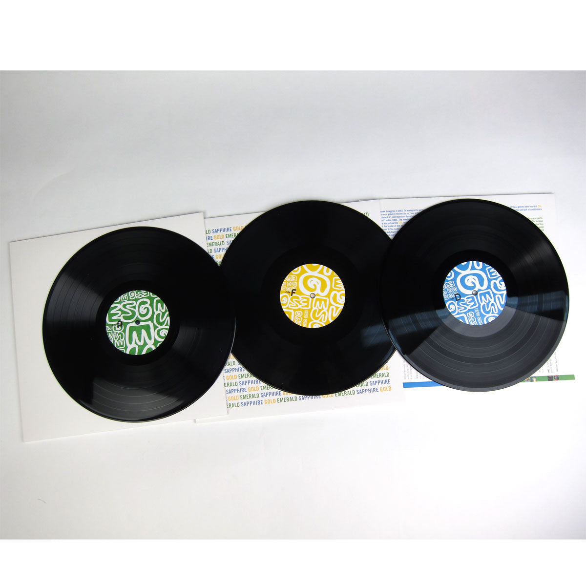 ESG: Dance To The Best Of ESG Vinyl 3LP detail