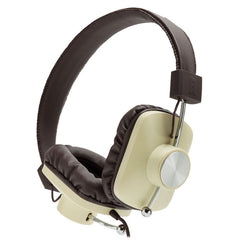 Eskuche: Control V2 Headphones - Cream / Brown