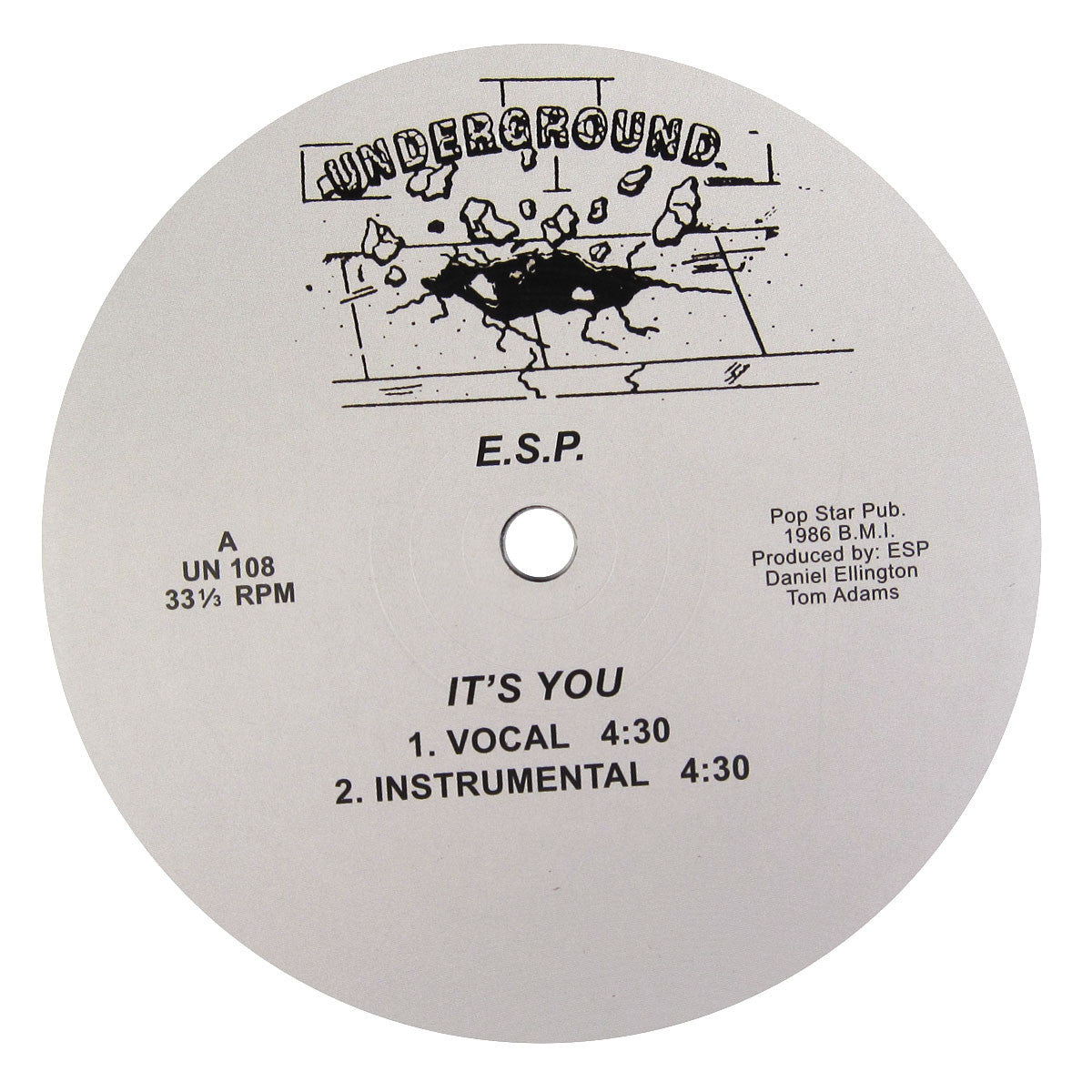 ESP: It's You Vinyl 12""