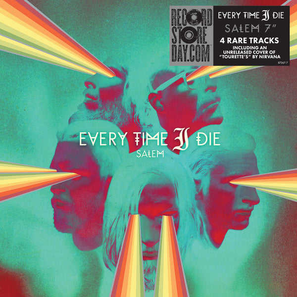 "Every Time I Die: Salem (Colored Vinyl) Vinyl 7"" (Record Store Day)"