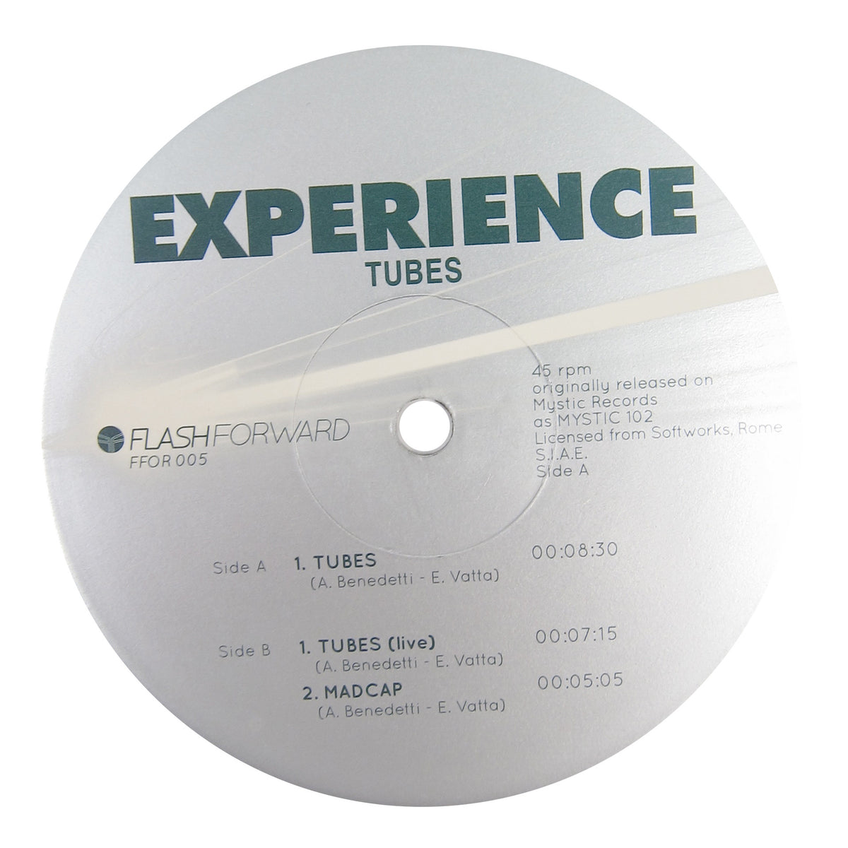 The Experience: Tubes Vinyl 12""