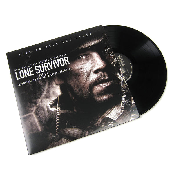 Explosions In The Sky & Steve Jablonsky: Lone Survivor Soundtrack (180g) Vinyl LP